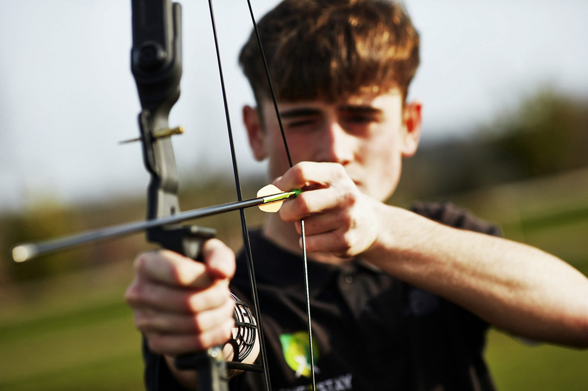 Archery, one of the activities available at Love2Stay Adventure Centre.