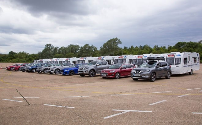 37th Caravan and Motorhome Club Towcar of the Year Competition